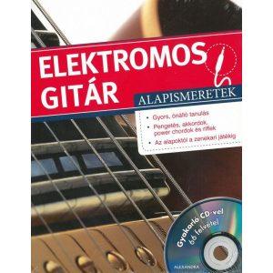 Elektromos gitár alapismeretek- gyakorló CD-vel