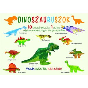 Modellkönyv: Dinoszauruszok