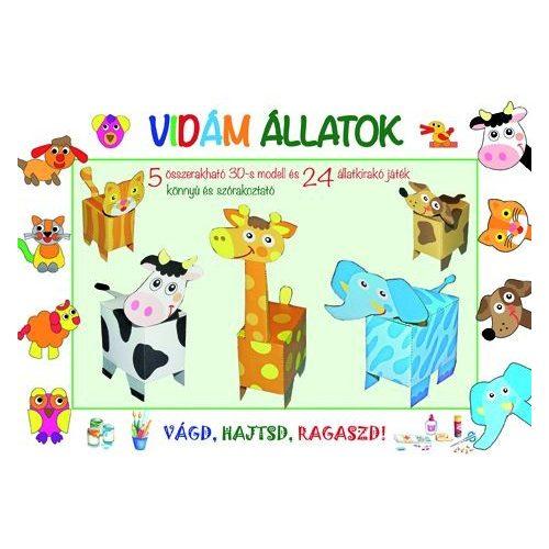 Modellkönyvek: Vidám állatok