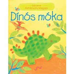 Dínós móka - Első kreatív könyvem