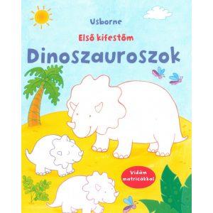 Dinoszauruszok - első kifestőm