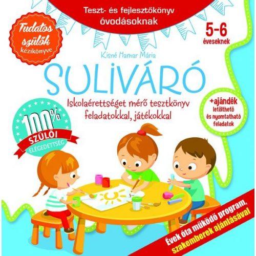 Suliváró 5-6 éveseknek, játékosan segít a gyermekednek felkészülten kezdeni az iskolát