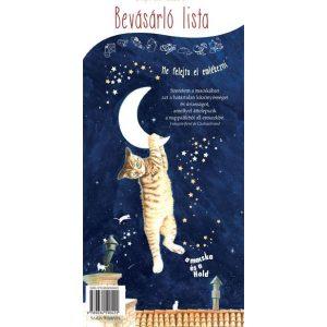 A macska és a Hold - Bevásárlólista            Mágnessel a hátoldalon