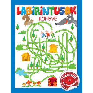 Labirintusok könyve  -   letörölhető  útvesztők kis felfedezők számára!