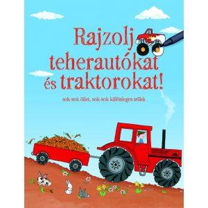 Rajzolj teherautókat és traktorokat!