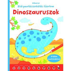 Dinoszauruszok - Első pontösszekötős füzetem