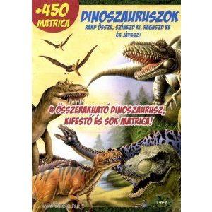Dinoszauruszok+450 matrica