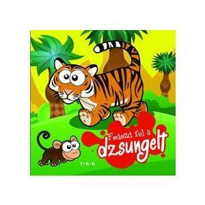 Fedezd fel a dzsungelt! Szövetkönyv recsegős oldallal és csipogóval