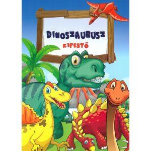 Dinoszaurusz - kifestő