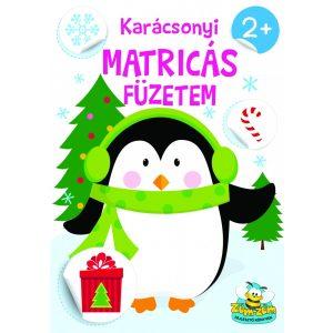 Karácsonyi matricás füzetem