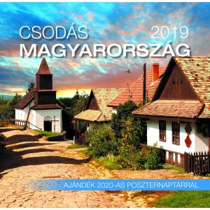 2019 naptár: Csodás Magyarország