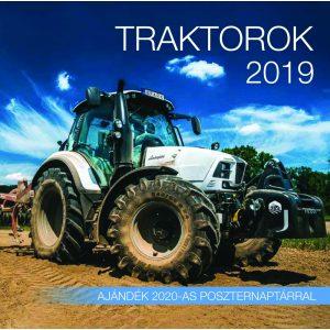 2019 naptár: Traktorok