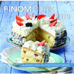2019 naptár: Finom sütik