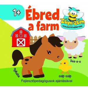 Ébred a farm - hangutánzó könyvecske