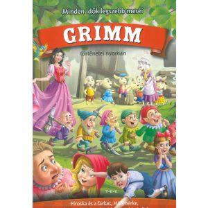 Minden idők legszebb Grimm meséi ( Piroska és a farkas, Hófehérke, A hét kecskegida, Jancsi és Juliska)
