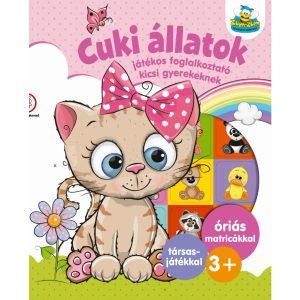 Cuki állatok - Játékos foglalkoztató gyerekeknek