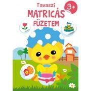 Tavaszi Matricás Füzetem 3+