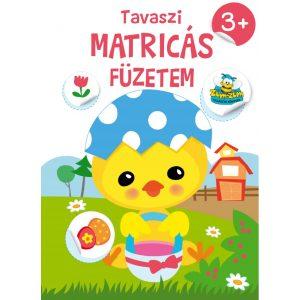 Tavaszi Matricás Füzetem