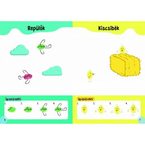 Játékos ujjlenyomatok   , Egyszerű minták , Kreatív rajzolóka   - ÓRIÁS MATRICÁKKAL