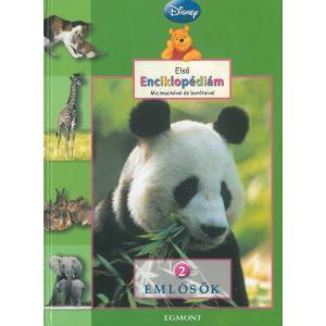 Első enciklopédiám Micimackóval és barátaival   Emlősök  2   Disney
