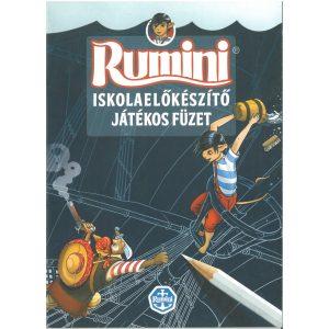 Rumini - Iskolaelőkészítő játékos füzet