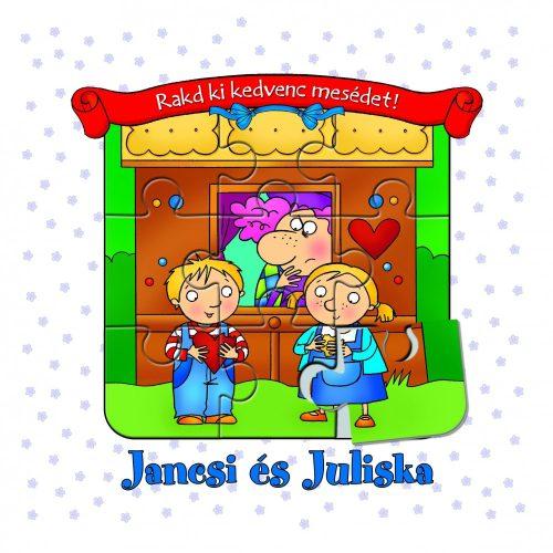 Rakd ki kedvenc mesédet! Jancsi és Juliska