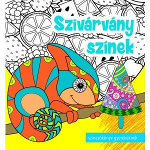 Szivárvány színek   -    Színezőkönyv könyv gyerekeknek , felnőtteknek