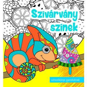 Szivárvány színek   -    Színezőkönyv könyv gyerekeknek és felnőtteknek