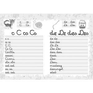 Betűk írása - Almatanoda