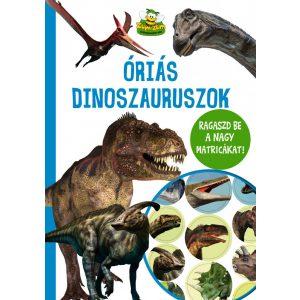 Óriás dinoszauruszok - több, mint 40 matrica
