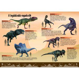 Óriás dinoszauruszok - nagy matricákkal