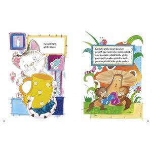 Sárga bögre, görbe bögre - Játékos nyelvtörők  Vida Kata rajzaival