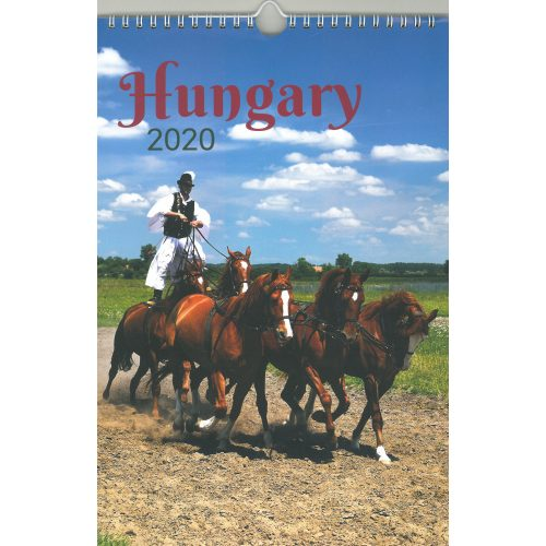 2020 naptár: Hungary