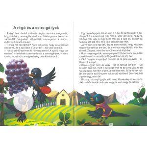 A far-kas jó ta-ná-csa és más történetek - Szótagolós mesék