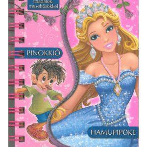 Hamupipőke, Pinokkió-Mesék és feladatok mesehősökkel