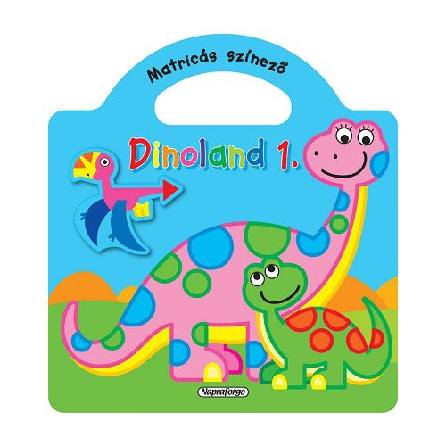 Dinoland 1. - Matricás színező