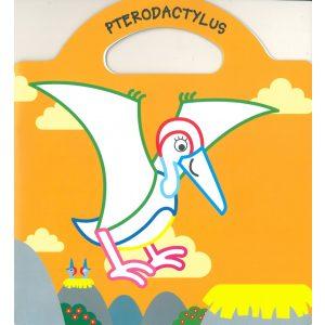 Dinoland 2. - Matricás színező