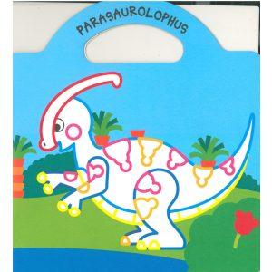 Dinoland 4.- Matricás színező