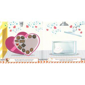 A kis cukrász - Bonbonok és sütemények