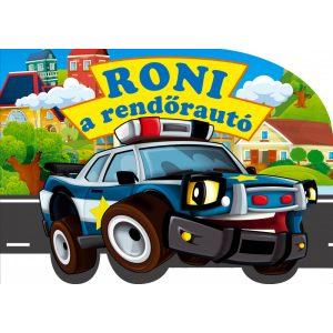 Roni a rendőrautó