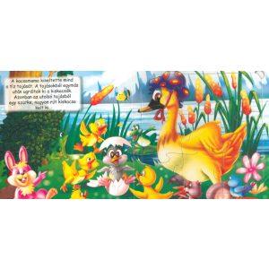 A rút kiskacsa - Szórakoztató puzzle