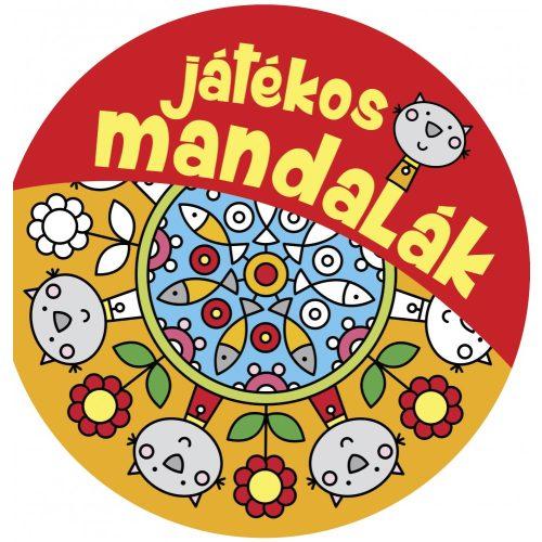 Játékos mandalák kifestő