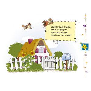 Gólya viszi a fiát - mondókáskönyv