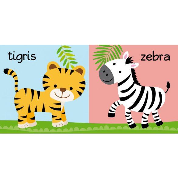 Fürdőskönyv: Vidám állatkert