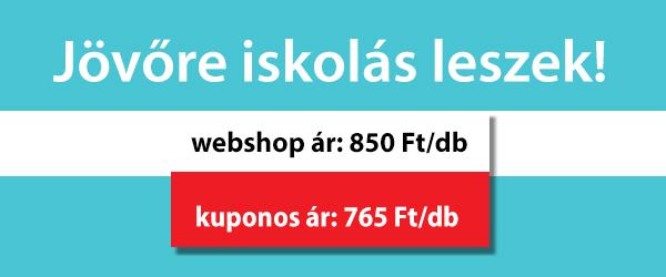 Jövőre iskolás leszek!, webshop ár: 850 Ft/db, kuponos ár: 765 Ft/db