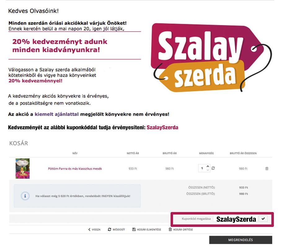 Szalay Szerda akció